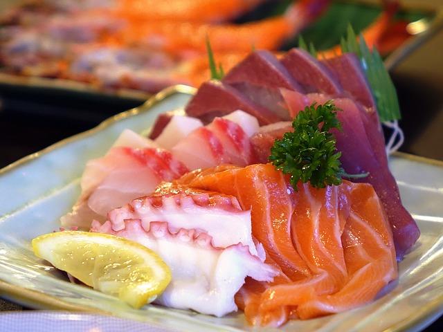 differenza tra sushi e sashimi